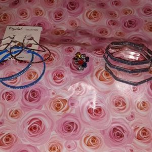 Turquoise jewelry combo